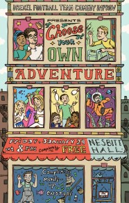 Colored Choose Your Own Adventure Poster